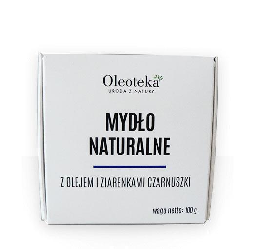 Mydło naturalne Oleoteka z olejem i ziarenkami czarnuszki
